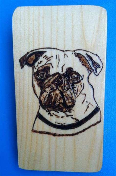 pug wood pug wood burning wall plaque wood business products pug products and