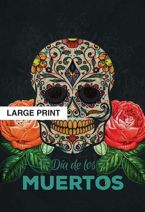 Dia De Los Muertos Essay by Dia De Los Muertos Mexican Retro Sugar Skull Illustration Print Vintage Giclee On Cotton