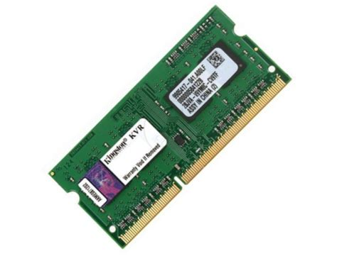 Kingston 4gb 1600mhz Ddr3 by Kingston 4gb Ddr3 1600mhz Sodimm Memory Low Voltage 1 35v