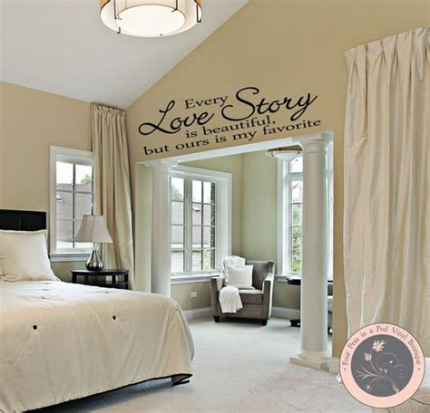 bedroom decor bedroom wall decal master bedroom wall