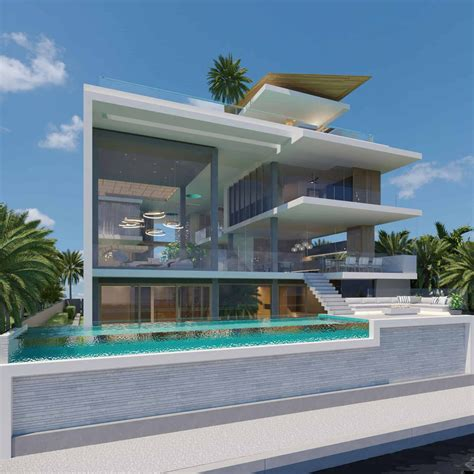 modern coastal dream home  indooroutdoor pools