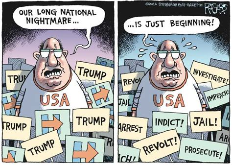 Dunia Paralel political on won in alternate universe by rob rogers the pittsburgh post