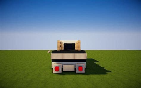 minecraft pickup truck car vintage pickup truck minecraft project