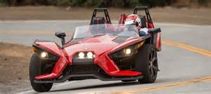 new car with 3 wheels 2015 drive review polaris slingshot three wheel car