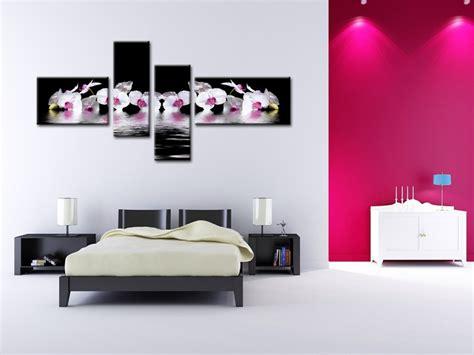 Beau tableau pour salle a manger #1: tableau-toile-dco-moderne-fleurs-orchides.jpg