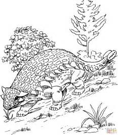 301 Moved Permanently Ankylosaurus Coloring Page