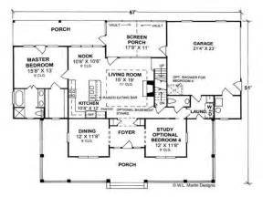 Country Open Floor Plans by Country Home Floor Plans Country Homes Open Floor Plan