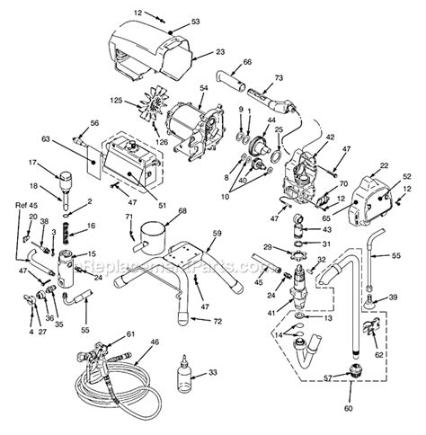 graco 395 parts diagram graco 249911 parts list and diagram series a and b