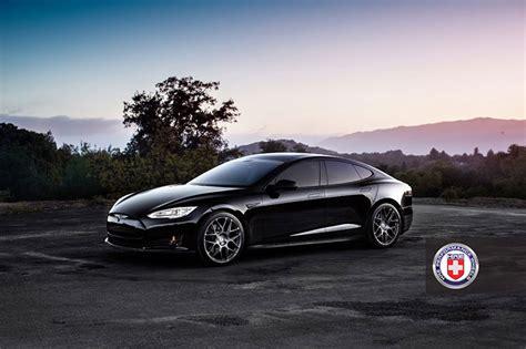 Wheels Tesla Model S Tesla Model S On Hre Wheels Cars One