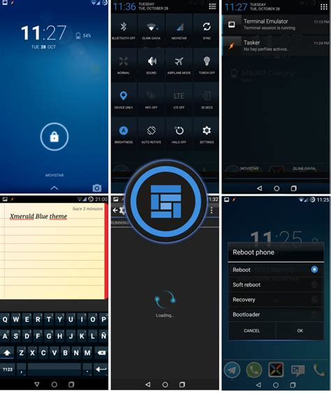 android themes on xda cm11 theme xmerald blue cm11 theme android