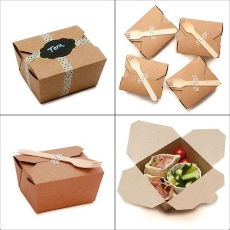 wedding box lunch ideas 50 kraft lunch food boxes for cakes by