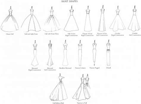 different shapes of wedding dresses 26 best images about names and types of dresses skirts
