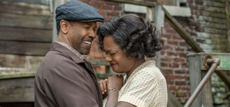 denzel washington viola davis denzel washington and viola davis star in fences coming to