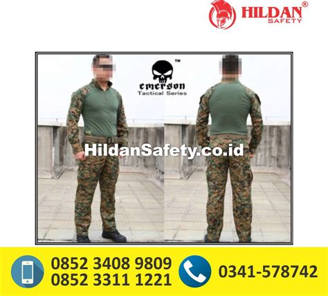 Baju Army Ba 01 Baju Army Pria Hildan Safety Official Supplier