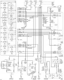 instrument cluster system schematic 1997 ford econoline e150 free service repair user and