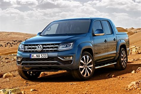 volkswagen pickup 2016 new 2016 vw amarok gets a v6 pick me up by car magazine