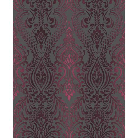 superfresco wallpaper black and white superfresco wallpaper classica damask black and pink at