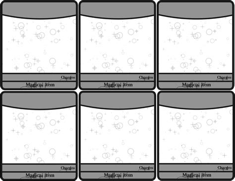 d d 3 5 spell card template printable d d 5e spell cards archives source calendar