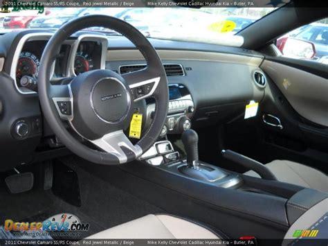 beige interior 2011 chevrolet camaro ss rs coupe photo