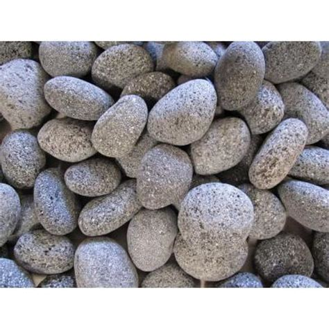 margo garden products 20 lb black lava pebbles nl20 1030