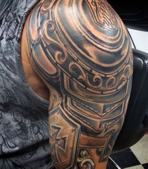 roman armour tattoo designs top 90 best armor designs for walking