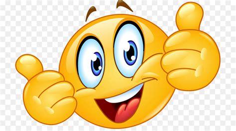 smiley emoticon jempol sinyal gambar png