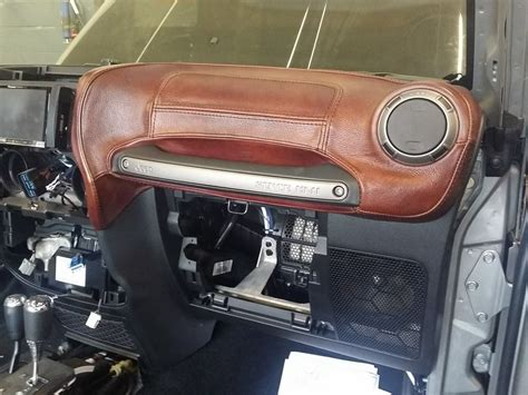 jeep custom console custom jeep wrangler interior seats dashboard center