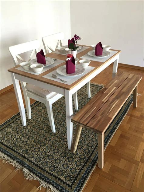small table with bench seats white dining table with bench seats dining room table and