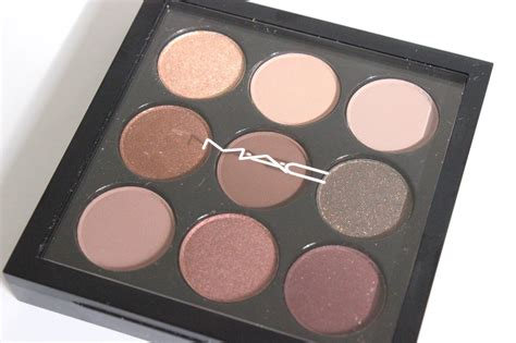 Mac Eyeshadow Palette mac eye shadow x 9 burgundy times nine a pop of