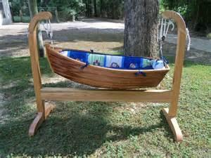 Row Boat Toddler Bed Wooden Boat Baby Cradle Home Design Garden