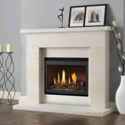 Fireplace Suites Gas by Pureglow Drayton Limestone Fireplace Suite With Chelsea