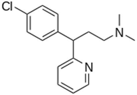 Obat Antihistamin Chlorphenamine chlorphenamine