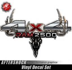 ram 2500 4x4 camo skull truck decals aftershock decals