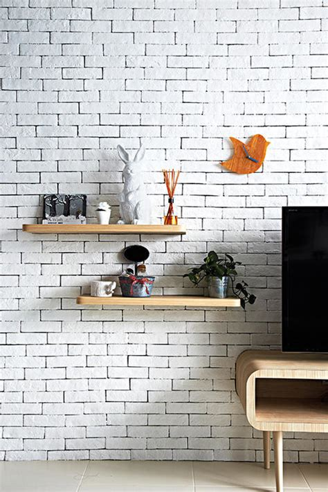 beautiful brick walls home decor singapore 10 homes that combine light wood and white perfectly