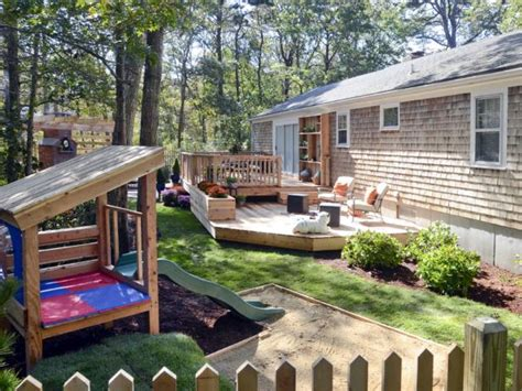 Two Level Backyard by Photo Page Hgtv