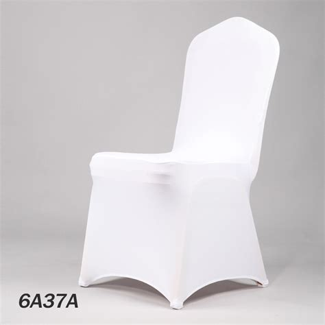 aliexpress com buy white wedding spandex chair cover