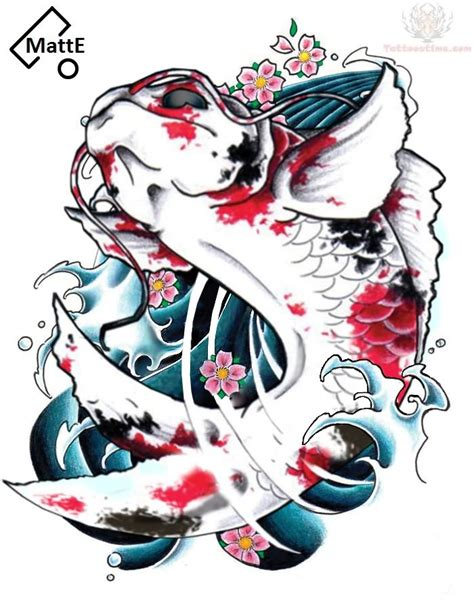 japanese carp tattoo designs koi fish photos 03 the collectioner