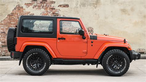 Orange Jeep Wrangler By Project Kahn Carscoops