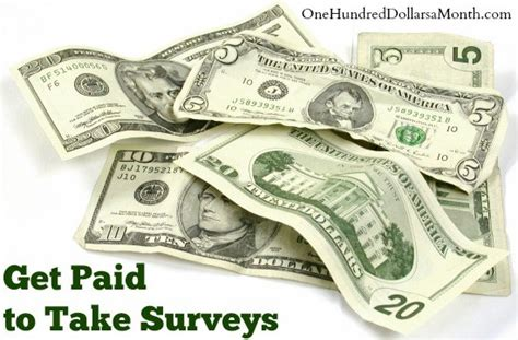 Survey Companies That Pay Cash - get paid to take surveys 8 companies that pay cash for your opinons