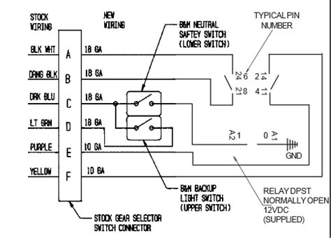 ford aod wiring diagram ford aod transmission shift