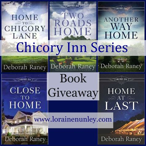 Book Giveaways 2017 - book giveaway chicory inn series by deborah raney loraine d nunley author