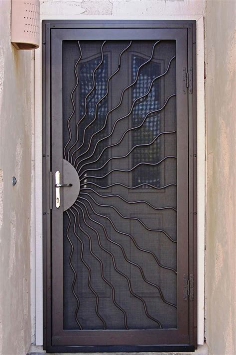 safety door design unique home designs security doors homesfeed