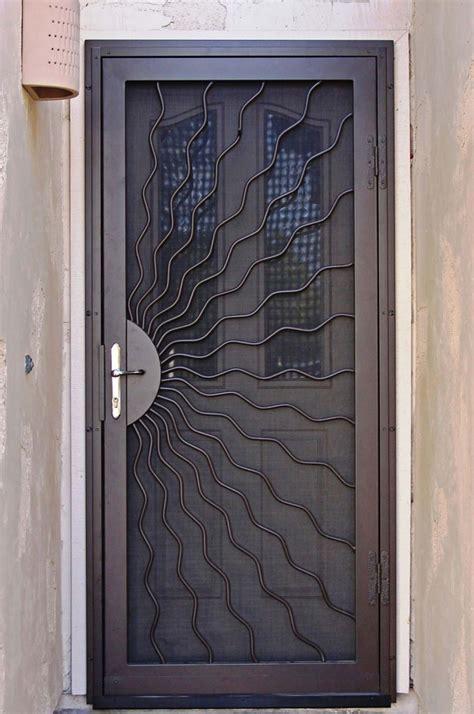 unique home designs security doors homesfeed