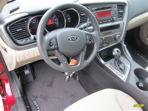 2012 Kia Optima Interior Beige Interior 2012 Kia Optima Lx Photo 55525085