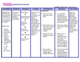 nursing home care plans exles nursing crib com nursing care plan renal failure