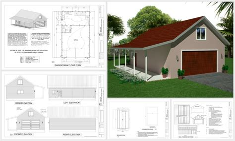 garage floor plans with living quarters easy to pole barn plans with living space gatekro