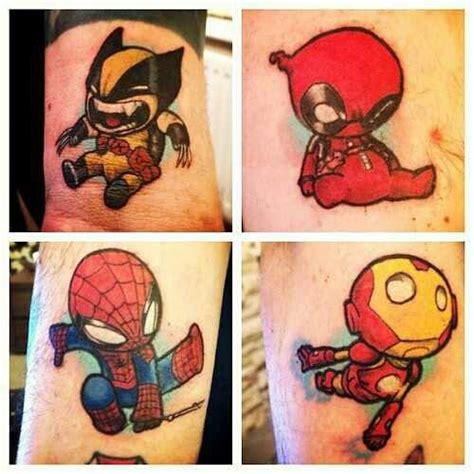 tattoo couple with baby baby superhero tattoos tattoos that i love pinterest