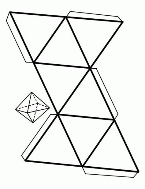 imagenes geometricas para armar octaedro para armar
