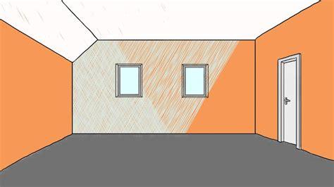 decke und wände in gleicher farbe streichen schlafzimmergestaltung mit dachschr 228 ge