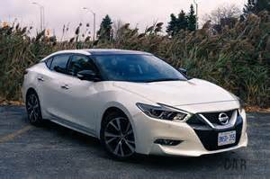 Nissan Maximas Review 2017 Nissan Maxima Platinum Canadian Auto Review